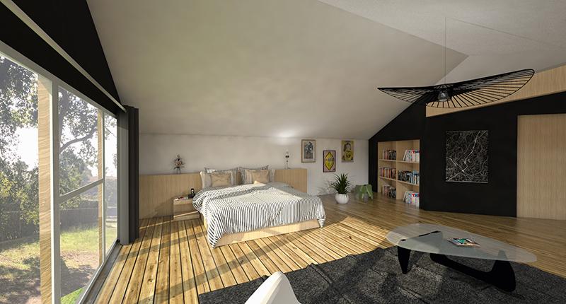 Maison h architecte capbreton for Architecte hossegor