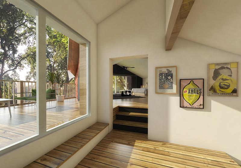 maison h architecte capbreton. Black Bedroom Furniture Sets. Home Design Ideas