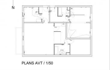 Réhabilitation et restructuration de deux appartements en un seul appartement