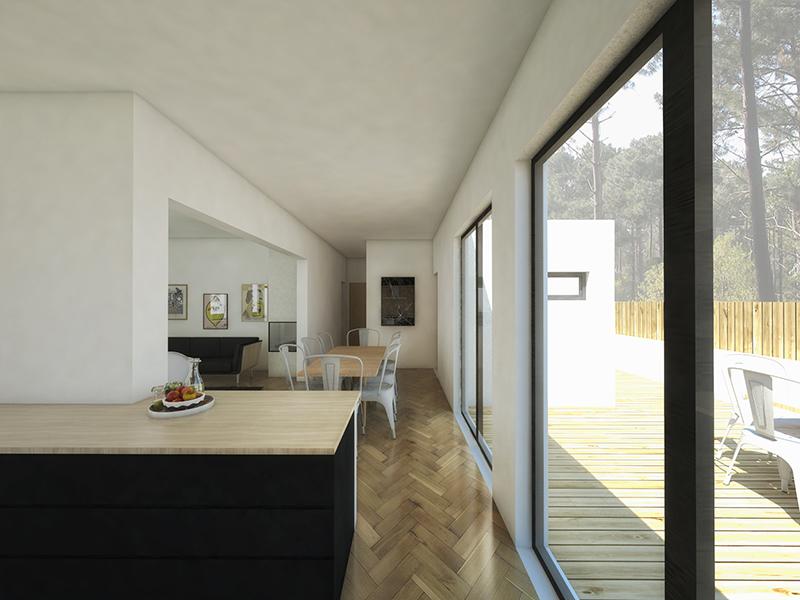 nouveau projet r habilitation d 39 une capbretonnaise architecte capbreton. Black Bedroom Furniture Sets. Home Design Ideas