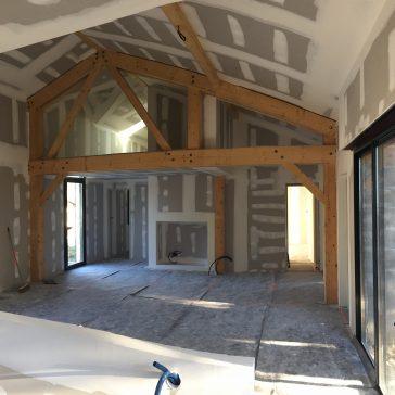 Réhabilitation d'une maison individuelle à Capbreton